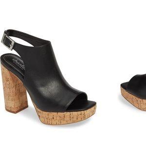 Charles David chunk heels